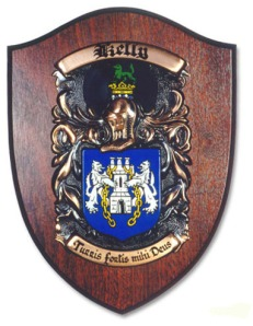 coat of arms plaque