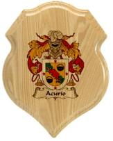 acurio-family-crest-plaque