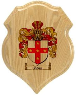 adam-family-crest-plaque