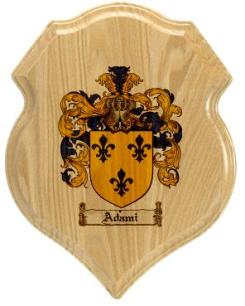 adami-family-crest-plaque