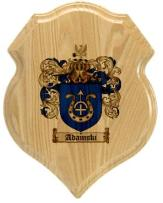 adamski-family-crest-plaque