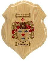 adamsone-family-crest-plaque