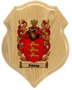 adaway-family-crest-plaque