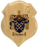 adcockson-family-crest-plaque
