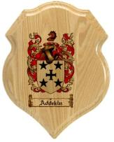 addekin-family-crest-plaque