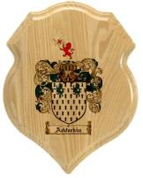 adderkin-family-crest-plaque
