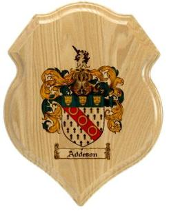 addeson-family-crest-plaque