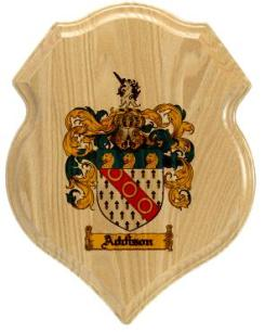 addison-family-crest-plaque