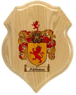 addleman-family-crest-plaque