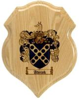 adecok-family-crest-plaque