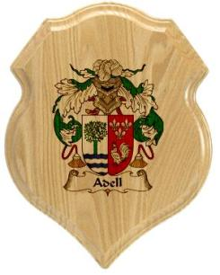 adell-family-crest-plaque