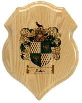 adem-family-crest-plaque