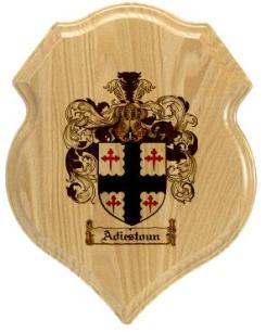 adiestoun-family-crest-plaque
