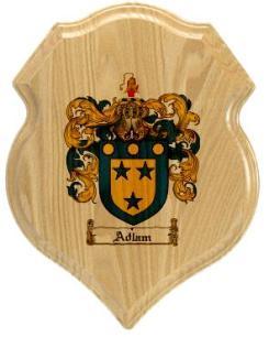 adlam-family-crest-plaque
