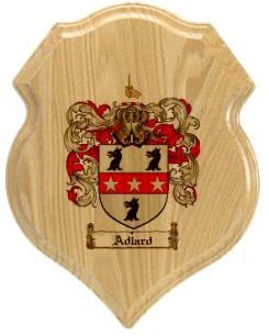 adlard-family-crest-plaque