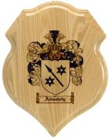 admowty-family-crest-plaque