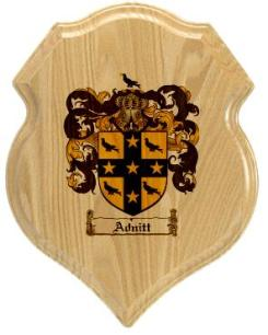adnitt-family-crest-plaque