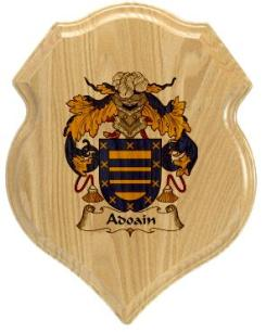 adoian-family-crest-plaque