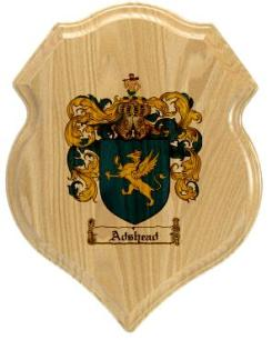 adshead-family-crest-plaque