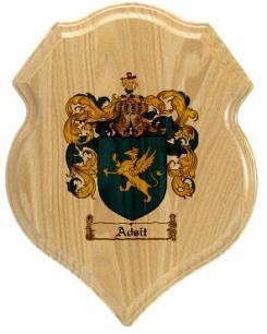 adsit-family-crest-plaque