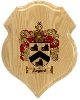 aegard-family-crest-plaque