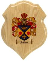 aelfred-family-crest-plaque