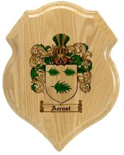 aernst-family-crest-plaque