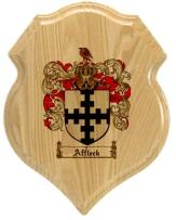 affleck-family-crest-plaque