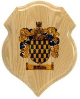 afflitto-family-crest-plaque