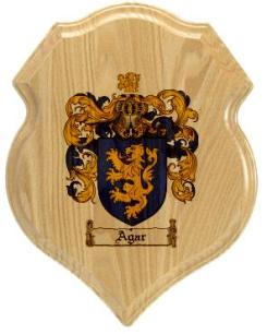 agar-family-crest-plaque