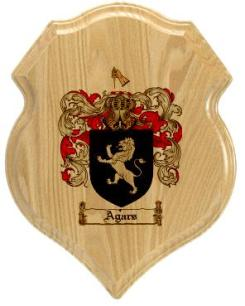 agars-family-crest-plaque