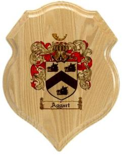 aggart-family-crest-plaque