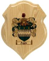 aggis-family-crest-plaque