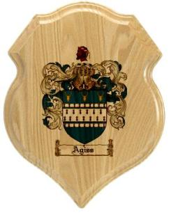 agiss-family-crest-plaque