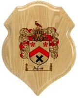 agner-family-crest-plaque