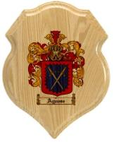 agnese-family-crest-plaque