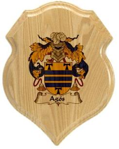 agos-family-crest-plaque