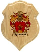 agramunt-family-crest-plaque