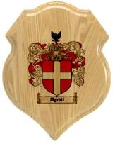 agrati-family-crest-plaque