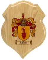 aguero-family-crest-plaque