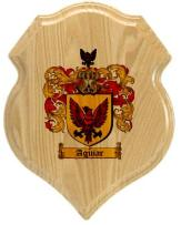 aguiar-family-crest-plaque
