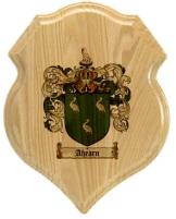 ahearn-family-crest-plaque