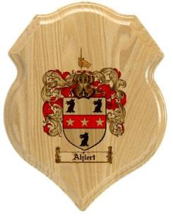 ahlert-family-crest-plaque