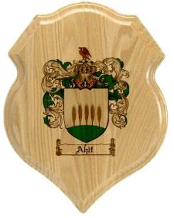 ahlf-family-crest-plaque