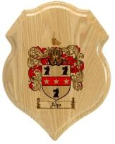 aho-family-crest-plaque