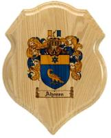 ahonen-family-crest-plaque