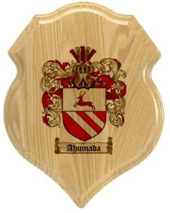 ahumada-family-crest-plaque