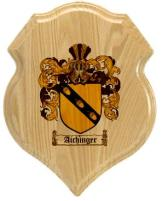 aichinger-family-crest-plaque