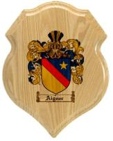 aigner-family-crest-plaque