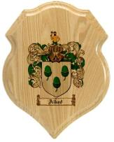 aiked-family-crest-plaque